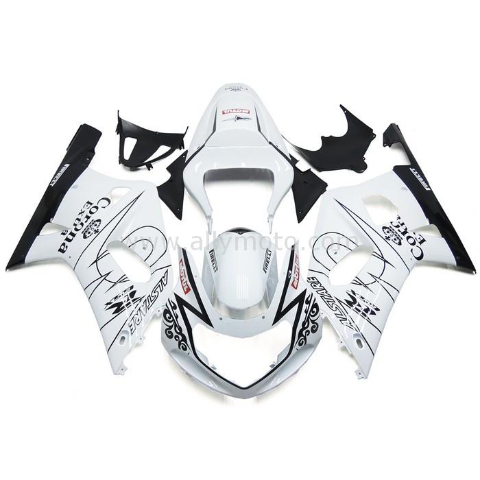 0299 Fairing Suzuki Gsxr600 Gsxr750 K1 00 01 02 03 White